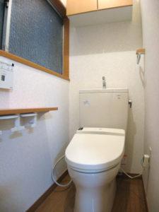 バス・トイレリフォーム/あたたかみのあるトイレ空間