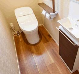 トイレのリフォームはいつでも人気です。